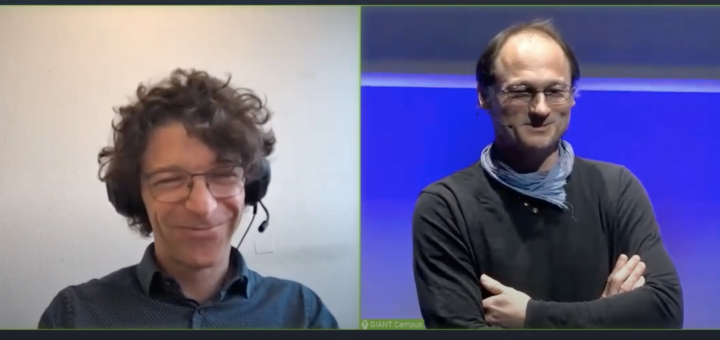 [in French] Midi MINATEC – March 5th 2021 – Cyril Labbé et Raphaël Lévy's talk about the project